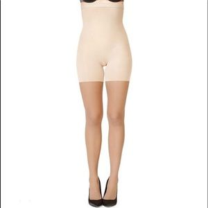 NEW SPANX High Waisted Shaping Sheers Size A